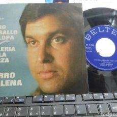 Discos de vinilo: CURRO MALENA SINGLE OTRO CABALLO GALOPA 1975. Lote 287585023