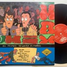 Disques de vinyle: LP MIKE PLATINAS & JAVIER USSIA MAX MIX (EL PRIMER MEGAMIX ESPAÑOL) DE 1985. Lote 287588408
