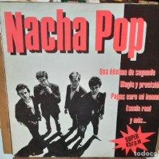 Discos de vinilo: NACHA POP - UNA DÉCIMA DE SEGUNDO, MAGIA Y PRECISIÓN, ESCALA REAL, ... - MAXI SINGLE SELLO DRO 1984. Lote 287594548