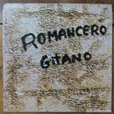 Discos de vinil: MIKIS THEODORAKIS - ROMANCERO GITANO DE GARCÍA LORCA - 1978 -. Lote 287595683