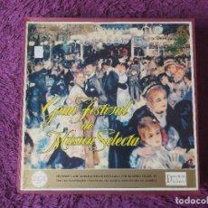 Discos de vinilo: GRAN FESTIVAL DE MÚSICA SELECTA , 12 X VINYL, LP BOX 1961 SPAIN RDFM-1 A RDFM-12. Lote 287596488