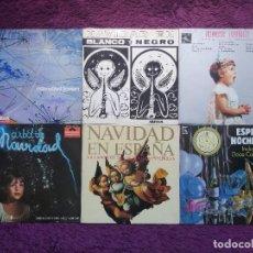 Discos de vinilo: LOTE 24 DISCOS TEMÁTICA NAVIDEÑA , VINYL, LP SINGLE FLEXI-DISC. Lote 287599413
