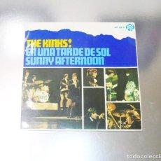Discos de vinilo: THE KINKS --- EN UNA TARDE DE SOL & NO SOY COMO LOS DEMAS +2 -- MINT M. Lote 287619268