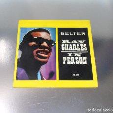Discos de vinilo: RAY CHARLES IN PERSON- ---WHAT´ D I SAY + 2 ------ -VINILO/FUNDA MINT M+. Lote 287620408