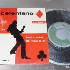 Discos de vinilo: ADRIANO CELENTANO ---- PREGHERO + 3-- -VINILO/FUNDA MINT M+. Lote 287620818
