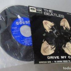 Discos de vinilo: THE BEATLES --- DRIVE MY CAR & I´M LOOKING THROUGH Y0U +2 -- VINILO/FUNDA MINT +. Lote 287623828
