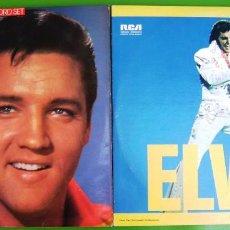 Discos de vinilo: LOTE DE 2 LPS DOBLES DE ELVIS PRESLEY. Lote 287625983