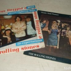 Disques de vinyle: LOTE VINILO SINGLE THE ROLLING STONES. Lote 287629413