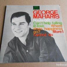 Discos de vinilo: GEORGE MAHARIS, EP, ROUTE 66 + 3, AÑO 1965. Lote 287644738