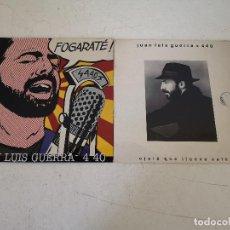 Discos de vinilo: LOTE DE 2 DISCOS DE VINILO, JUAN LUIS GUERRA, EN SUS FUNDAS ORIGINALES. Lote 287646118
