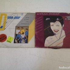 Discos de vinilo: LOTE DE 2 DISCOS DE VINILO, DURÁN DURÁN, EN SUS FUNDAS ORIGINALES. Lote 287646568