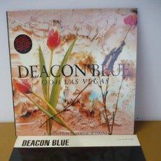 Discos de vinilo: DEACON BLUE OOH LAS VEGAS + MAXI SINGLE. Lote 287646763