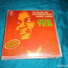 Discos de vinilo: JOE TEX. NO BAILARE MAS CON NINGUNA MUJER GRANDE Y GORDA / DESTRUYO TODO. EPIC, 1977 . IMPECABLE(#). Lote 287651533