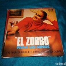 Discos de vinilo: EL ZORRO. PARA LOS NIÑOS. SI YO TUVIERA UN VIOLON / EL CHOCOLATE ESTABA CALIENT . MOVIEPLAY, 1970(#). Lote 287654323