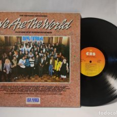 Disques de vinyle: WE ARE THE WORLD - USA FOR AFRICA. Lote 287469733