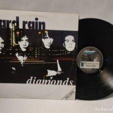 Disques de vinyle: DIAMONDS - HARD RAIN. Lote 287470053