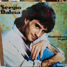Discos de vinilo: SERGIO DALMA - SINTIÉNDONOS LA PIEL - LP. SELLO HORUS 1991. Lote 287664478