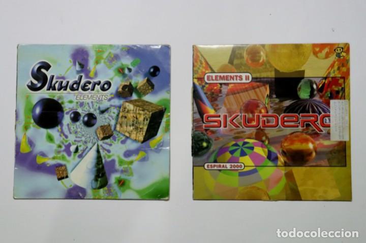 LOTE VINILOS DJ ESCUDERO ELEMENTS I Y II (Música - Discos - Singles Vinilo - Techno, Trance y House)