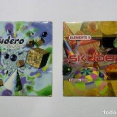 Discos de vinil: LOTE VINILOS DJ ESCUDERO ELEMENTS I Y II. Lote 287687348
