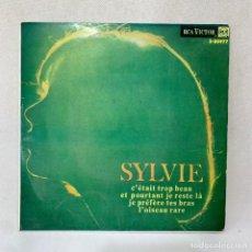 Discos de vinilo: EP SYLVIE - C'ETAIT TROP BEAU - ESPAÑA - AÑO 1966. Lote 287696068