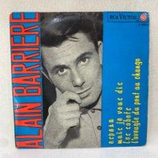 Discos de vinilo: EP ALAIN BARRIERE - ESPERA - ESPAÑA - AÑO 1965. Lote 287696558