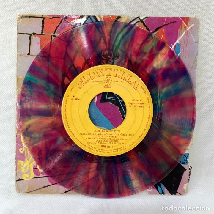 Discos de vinilo: EP MARISOL - LA BELLA DURMIENTE DEL BOSQUE - ESPAÑA - AÑO 1962 - Foto 2 - 287698153