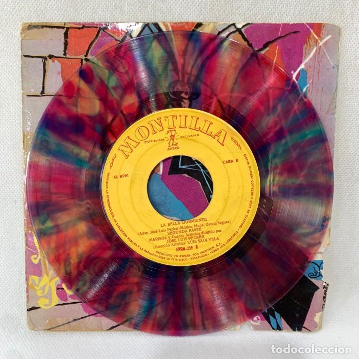 Discos de vinilo: EP MARISOL - LA BELLA DURMIENTE DEL BOSQUE - ESPAÑA - AÑO 1962 - Foto 3 - 287698153