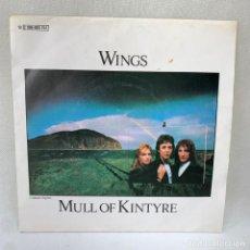 Discos de vinil: SINGLE WINGS - MULL OF KINTYRE - ESPAÑA - 1977. Lote 287701358