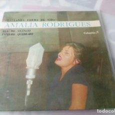 Discos de vinilo: AMÁLIA RODRIGUES - ESTRANHA FORMA DE VIDA SINGLE. Lote 287703558