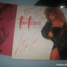 Discos de vinilo: TINA TURNER - BREAK EVERY RULE .. LP ORIGINAL ESPAÑOL DE 1986 - 074 2406111..FIRMADO ESPECIAL .. Lote 287686068