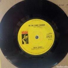 Discos de vinilo: RUFUS THOMAS. DO THE FUNKY CHICKEN. SINGLE SIN PORTADA. STAX. AÑO 1969. Lote 287728623