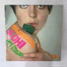 Discos de vinilo: EP FAUSTO LEALI - A CHI - FRANCIA - AÑO 1967. Lote 287732718