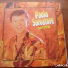 Discos de vinilo: PAOLO SALVATORE CUATRO PESETAS. Lote 287734458