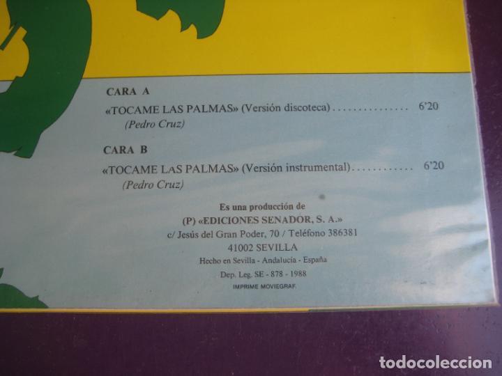 Discos de vinilo: KIMERAS - TOCAME LAS PALMAS - MAXISINGLE SENADOR 1988 - RUMBAS GITANAS - SIN ESTRENAR - Foto 3 - 287734628