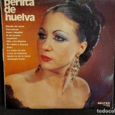 Discos de vinilo: PERLITA DE HUELVA / MISMO TÍTULO / LP - BELTER-1972 / MBC. ***/***. Lote 287738813
