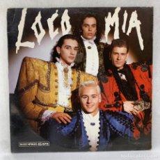 Discos de vinilo: MAXI SINGLE LOCO MIA - LOCO MIA - ESPAÑA - AÑO 1989. Lote 287740543