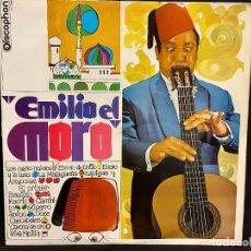 Discos de vinilo: EMILIO EL MORO / MISMO TÍTULO / LP DISCOPHON-1969 / MBC. ***/***. Lote 287740718