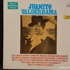 Discos de vinilo: JUANITO VALDERRAMA / LP - ZAFIRO-ETIQUETA VERDE-1969 / MBC. ***/***. Lote 287741138