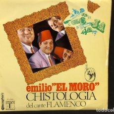Discos de vinilo: EMILIO EL MORO / CHISTOLOGÍA DEL CANTE FLAMENCO / LP - DISCOPHON-1965 / MBC. ***/***. Lote 287741573