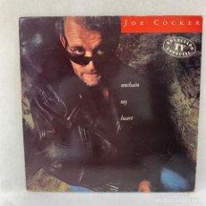 Discos de vinilo: LP - VINILO JOE COCKER - UNCHAIN MY HEART - ESPAÑA - AÑO 1987. Lote 287741988