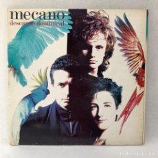 Disques de vinyle: LP - VINILO MECANO - DESCANSO DOMINICAL - TRIPLE PORTADA + ENCARTE - ESPAÑA - AÑO 1988. Lote 287743028