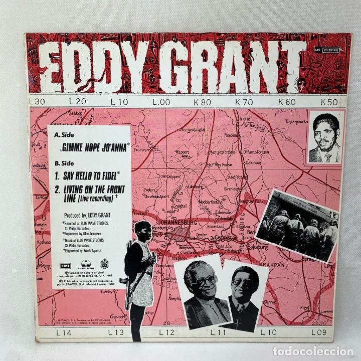 Discos de vinilo: MAXI SINGLE EDDY GRANT - GIMME HOPE JOANNA - ESPAÑA - AÑO 1988 - Foto 4 - 287744088