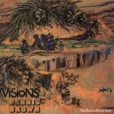 Discos de vinilo: LP DENNIS BROWN VISIONS OF DENNIS BROWN VINILO REGGAE. Lote 287745963