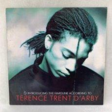 Discos de vinilo: LP - VINILO TERENCE TRENT D'ARBY - INTRODUCING THE HARDLINE ACCORDING TO + INSERT- ESPAÑA - AÑO 1987. Lote 287748123