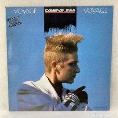 Discos de vinilo: MAXI SINGLE DESIRELESS - VOYAGE VOYAGE - ESPAÑA - AÑO 1986. Lote 287748633