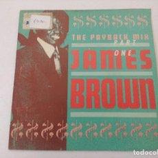 Discos de vinilo: SINGLE/JAMES BROWN/THE PLAYBACK MIX PART ONE.. Lote 287748693