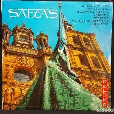 Discos de vinilo: SAETAS / VARIOS ARTISTAS / LP - BELTER-1968 / MBC. ***/***. Lote 287749158