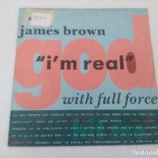 Discos de vinilo: SINGLE/JAMES BROWN/I'M REAL.. Lote 287750153