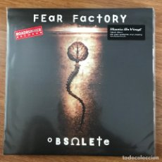 Discos de vinilo: FEAR FACTORY - OBSOLETE (1998) - LP REEDICIÓN MUSIC ON VINYL 2018 NUEVO. Lote 287752528