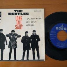 Discos de vinilo: BEATLES EP LONG TALL SALLY ED.ESPAÑA RARA CONTRAPORTADA. Lote 287754373
